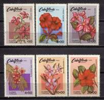 Cape Verde 1980 Cabo Verde / Flowers MNH Blumen Fleurs Flores / Cu0401  33 - Végétaux