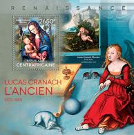 CENTRAL AFRICA 2014 - Partridge, L. Cranach - YT BF713; CV = 15 €