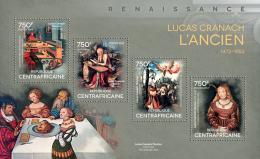 CENTRAL AFRICA 2014 - Partridge, L. Cranach - YT 3414-7; CV = 17 €