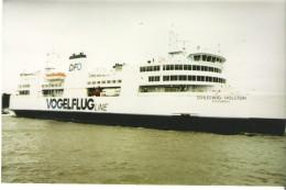 MS SCHLESWIG-HOLSTEIN / Vogelfluglinie  - XXL-Pressefoto - Schiffe