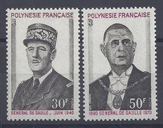 POLYNESIE - 1971 - N° 89/90 - XX - MNH - TB - - Nuevos