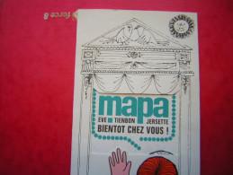 PUB / PUBLICITE  GANT DE MENAGE MAPA EVE TIENBON JERSETTE BIENTOT CHEZ VOUS - Reclame