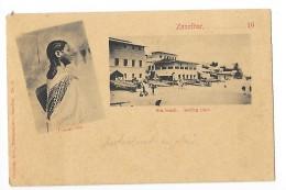 ZANZIBAR     Sea Beach - Comoro Girl  -- L 1 - Cartes Postales