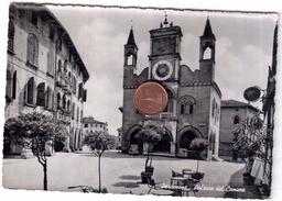 PORDENONE PALAZZO DEL COMUNE VIAGGIATA ANNI 1956 - Altre Città