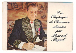 Carnet 12 Cp Les Paysages De Marcel Pagnol, Aubagne, Garlaban, Manon Des Sources, Académie Française, La Buzine - Aubagne
