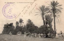 5040. CPA MAROC. AÏN-GUISSER. LE MARABOUT DANS LE BOIS SACRE. CACHET CAMPAGNE DU MAROC 1912. CASABLANCA - Maroc