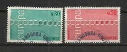 EUROPA 1971.  Oblitérés 1 ère Qualité (NON PJ)