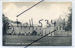 Ireland County Tipperary Presentation Convent Ballingarry Killenaule Postcard C.1904-5 By Hely's Dublin - Tipperary