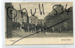 Ireland County Tipperary Cashel Canopy Street 1903-4 Postcard By Wrench - Tipperary