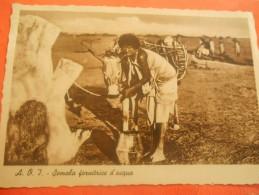 B659  Somalia Fornitrice D'acqua Presenza Di SCREPOLATURA /ABRASIONE Dove Manca Francobollo Come Da Foto - Somalie