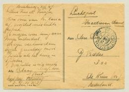 Nederlands Indië - 1947 - Veldpost-Batavia Op LP-kaart Naar De Krim / NL - Roko Toean - Sigaretten Verkopertje - Netherlands Indies