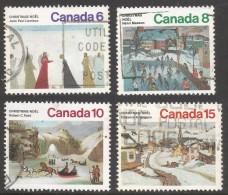 Canada. 1974 Christmas. Used Complete Set. SG 792-795 - 1952-.... Reign Of Elizabeth II