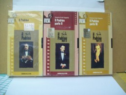 Il Padrino  Di Francis Ford Coppola (Corriere Della Sera)  Parte I°  II°  III° (Sono 3 Videocassette) - Classiques