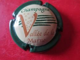 VALLEE DE LA MARNE. Contour Vert Foncé - Vallée De La Marne