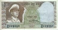 NEPAL TEN RUPEE BANKNOTE KING MAHENDRA 1970 PICK-18 ABOUT UNCIRCULATED AUNC - Nepal