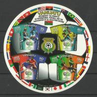 VANUATU  2006  FOOTBALL  WORLD CUP  SHEET  MNH - Wereldkampioenschap