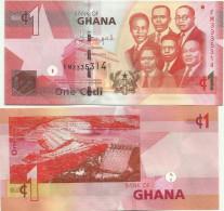Ghana - 1 Cedi 2013 UNC - Ghana