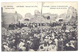 Cpa Les Baux, Environs D'Arles - Souvenir De La Fête Provençale - Laforest, Le Charretier-poète Déclamant ... - Les-Baux-de-Provence