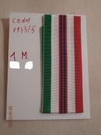 Nastro  1 Metro ( Per Medaglia  Comm 2 GM 1943/4 - Italia