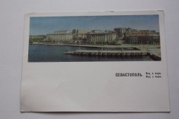 UKRAINE VC RUSIA. Crimea. SEVASTOPOL. 6 PCs Lot -  Old  Postcard 1960s - Stationery - Russie