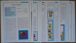Fiches Des Timbres De L´ Année 2010 Complète Par Timbres Magazine - Other Books
