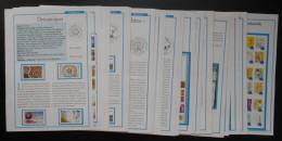 Fiches Des Timbres De L´ Année 2014 Complète Par Timbres Magazine - Other Books