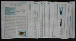Fiches Des Timbres De L´ Année 2015 Complète Par Timbres Magazine - Other Books