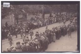 AARAU - EIDG. SCHÜTZENFEST 1920 - B ( LEGER PLI D'ANGLE ) - AG Argovie