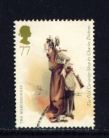 GREAT BRITAIN  -  2012  Charles Dickens  77p  Used As Scan - Used Stamps
