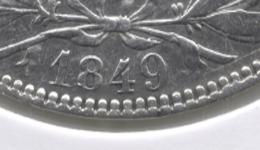 LEOPOLD I * 5 Frank 1849  Grote 9 * Z.Fraai / Prachtig * Nr 9048 - 11. 5 Francs