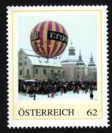 ÖSTERREICH 2013 ** Nikolaus Ballonpost Im Pfarrhof Christkindl In Steyr - PM Personalized Stamp MNH - Private Stamps