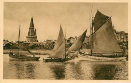 Dep 17 - La Rochelle - Dép 56 - Ile De Groix - Bateaux De Pêche - Gresillons ? - Gresillon ? - Bateaux A Identifier - La Rochelle