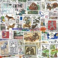 Tchèque République 50 Timbres Differents Oblitéres Trés Bon état - Collections, Lots & Séries