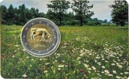 LETTONIE - 2 Euro 2016 - Agriculture Lettone - COINCARD - Lettonie