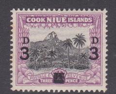 Niue SG 78 1940 Overprinted 3d Mint - Niue
