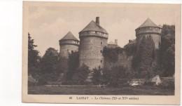 3061 Postal Francia   Lassay  Castillo - Francia