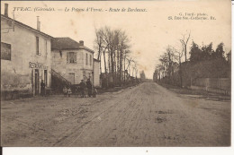5083. CPA 33 YVRAC. LE POTEAU D'YVRAC. ROUTE DE BORDEAUX - France