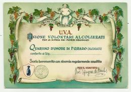 U.V.A. UNIONE VOLONTARI ALCOLIZZATI NV FG - Humor