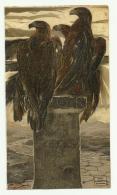 REGNO D'ITALIA DI DUILIO CAMBELLOTTI 1911 VEDI DESCRIZIONE - Künstlerkarten