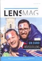 Lens Pas De Calais 62  Mag Magazine De La Ville Juillet Aout  Euro Football 2016  Réussi - Boeken, Tijdschriften, Stripverhalen