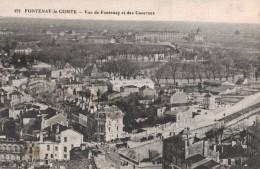 FONTENAY LE COMTE -85- VUE DE FONTENAY ET DES CASERNES - Fontenay Le Comte
