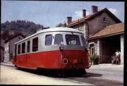 07 - LE CHEYLARD - VIVARAIS - Chemin De Fer - Locomotive - Le Cheylard