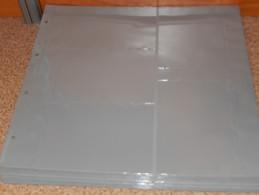 Lindner 3012 - 30 Feuilles Cartes Postales XL-gris - Supplies And Equipment