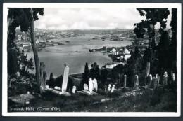 Istanbul, Halic, Corne D`Or, Friedhof, 19.8.1935 - Türkei