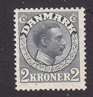 Denmark, Scott #133, Mint Hinged, King Christian X, Issued 1913 - 1913-47 (Christian X)