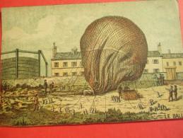 Chromo/Gravure/Phénoménes/XIXéme/Image Pédagogique/Le Ballon /LEFEVRE/Vers 1870-1880      GRAV131 - Trade Cards