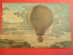 Chromo/Gravure/Phénoménes/XIXéme/Image Pédagogique/La Mongolfiére/LEFEVRE/Vers 1870-1880      GRAV132 - Trade Cards