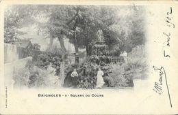 Brignoles - Square Du Cours - Edition Queirard - Carte Précurseur N° 9 - Brignoles