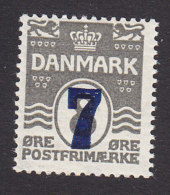 Denmark, Scott #181, Mint Never Hinged, Number Surcharged, Issued 1926 - 1913-47 (Christian X)