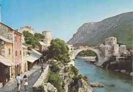 MOSTAR - LE PONT (ANCIEN, AVANT LA GUERRE) - 1979 - Bosnie-Herzegovine